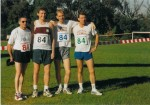 Team 84: Dave Hatley, Dave Cannings, Dr Allan Miller, Ted West