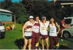 Team 71 – the now famous Bush Runner Team number;  Nigel Smith, Dave Cannings, Bob Smith and Ted West