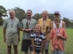 Monthly Handicap Winners: Bob Batterham, John Taylor, Katrina Gorton, John Quigley, Chris Graham, Leo Peterson