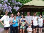 Monthly Handicap winners: Pete, Justine, Rebekah, Peter, Sarah, Dave, Brian, Beth