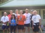 Monthly Handicap winners: Mark, George, Rebekah, Pete, Michael , Mark, Nathan, Kevin