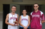 Stephen Mills (2012 Handicap Champion), Rebekah, Brian