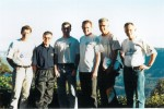 6ft Track 1999: Ted West, Dave Hatley, Chris Graham, Dave Cannings, Chris O'Neill, Bob Smith