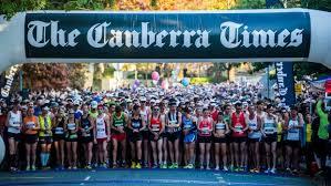 Canberra Marathon start